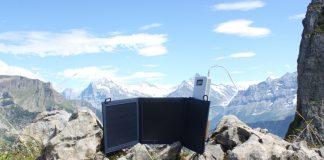 Faltbares Outdoor Solarmodul bei verduro.de